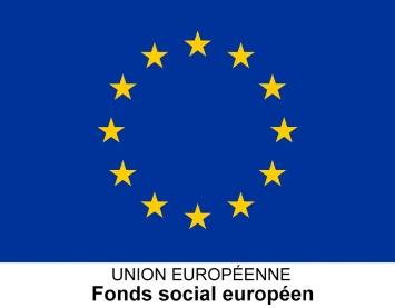 Fonds social européens logo